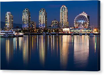 Vancouver Postcard Canvas Print by Alexis Birkill