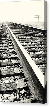 Vanishing Point Canvas Print by Caitlyn  Grasso