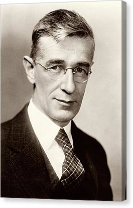 Vannevar Bush Canvas Print by American Philosophical Society