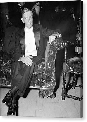Vannevar Bush Canvas Print by Library Of Congress