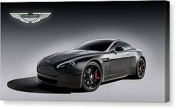 Vantage V12 Canvas Print by Douglas Pittman