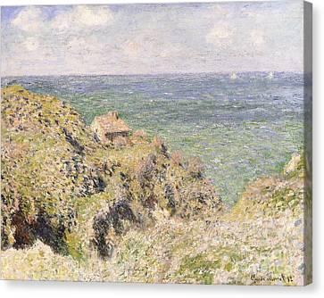 Varengeville Gorge Canvas Print by Claude Monet