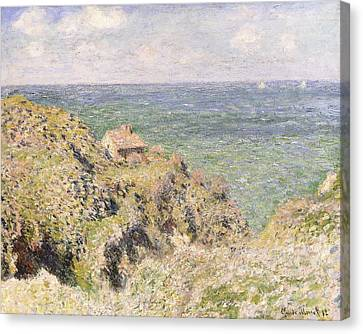 Varengeville Gorge Canvas Print by Claude Monet