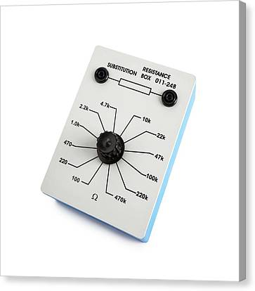 Variable Resistance Box Canvas Print by Science Photo Library