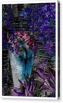 Vase Canvas Print by Athala Carole Bruckner
