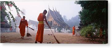 Vat Xieng Thong, Luang Prabang, Laos Canvas Print by Panoramic Images