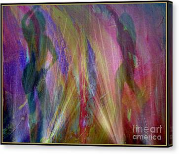 Veil Of Seduction Canvas Print by Irma BACKELANT GALLERIES