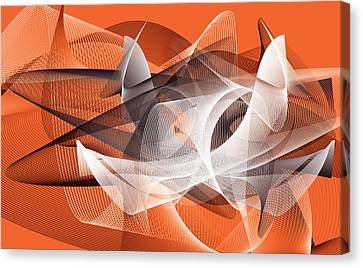 Velocity 3 Canvas Print by Angelina Vick