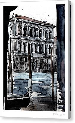 Venice 6 Canvas Print by Jack the Flipper
