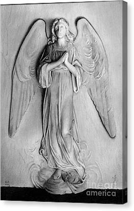 Venetian Angel Canvas Print by Nicola Butt
