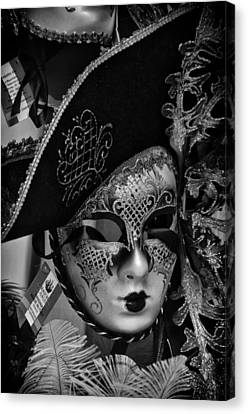 Venetian Carnival Mask Canvas Print by Tom Bell