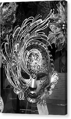 Venetian Mask Canvas Print by Tom Bell