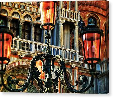 Venetian Potpourri  Canvas Print by Connie Handscomb