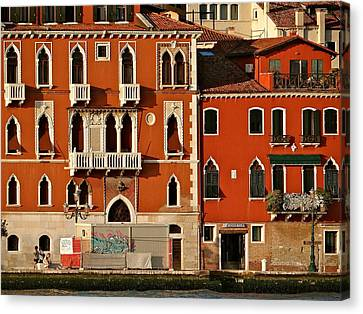 Venetian Red Canvas Print by Ira Shander