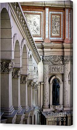 Venetian Walkway Canvas Print by Gina Savage