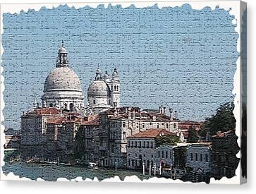 Venice 5 Canvas Print by Rebecca Cozart