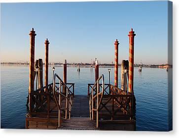 Venice  Canvas Print by C Lythgo