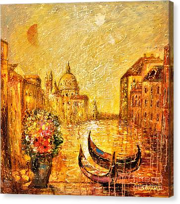 Venice II Canvas Print by Shijun Munns