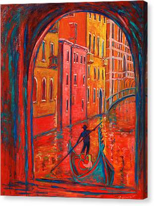 Venice Impression Viii Canvas Print by Xueling Zou