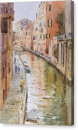 Venice In October Canvas Print by Andrii Gerasymiuk