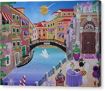 Venice, Italy, 2013 Canvas Print by Herbert Hofer