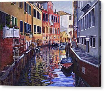 Venice Canvas Print by Douglas Simonson