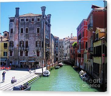 Venice Canvas Print by Steven Baier