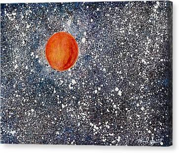 Venus Nv Canvas Print by Michael Spencer