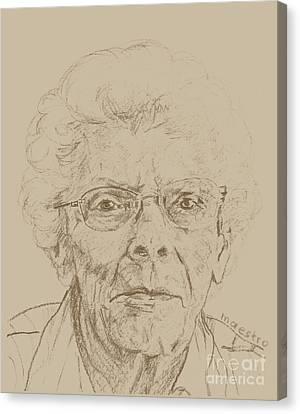 Vera Canvas Print by PainterArtistFINs Husband MAESTRO