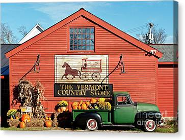 Vermont Country Store Canvas Print by John Greim