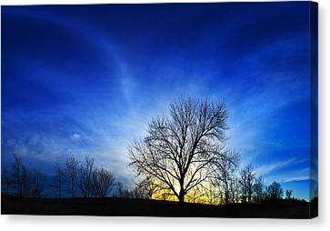 Vernal Sunset 2 Canvas Print by ABeautifulSky Photography