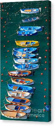 Vernazza Armada Canvas Print by Inge Johnsson