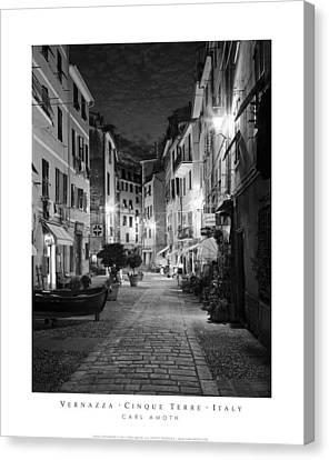 Vernazza Italy Canvas Print by Carl Amoth