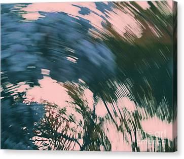 Vertigo In Turquoise Canvas Print by Irina Wardas