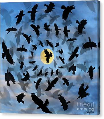 Vertigo Canvas Print by Judy Wood
