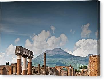 Vesuvius Canvas Print by Marion Galt