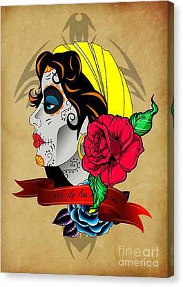 Via De Los Muertos Canvas Print by Mark Ashkenazi