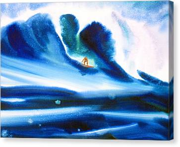 Vibration Of Youth #2 Canvas Print by John YATO