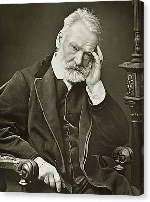 Victor Hugo Canvas Print by French Photographer