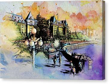 Victoria Art Canvas Print by Catf