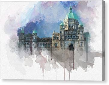 Victoria Scenery 4 Canvas Print by Mahnoor Shah