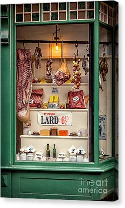 Victorian Butchers Canvas Print by Adrian Evans