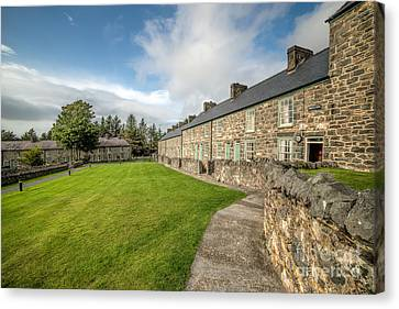 Victorian Cottages Canvas Print by Adrian Evans