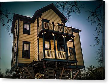 Victorian House Canvas Print by Garry Gay