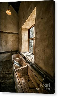 Victorian Laundry Room Canvas Print by Adrian Evans