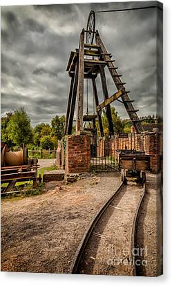 Victorian Mine Canvas Print by Adrian Evans