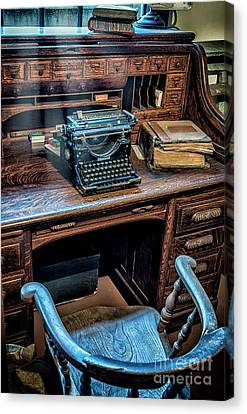 Victorian Office Canvas Print by Adrian Evans