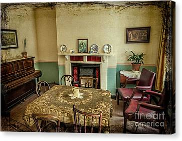 Victorian Room Canvas Print by Adrian Evans
