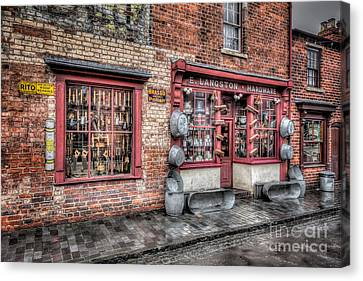 Victorian Stores England Canvas Print by Adrian Evans