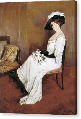 Vidal I Puig, Llu�sa 1876-1918 Canvas Print by Everett
